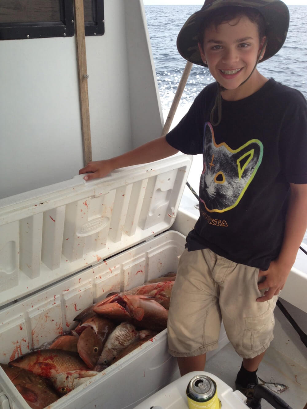 Fishing Off Clearwater On The Wizard Dr Caputo Palm